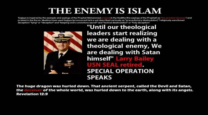THE ENEMY IS ISLAM