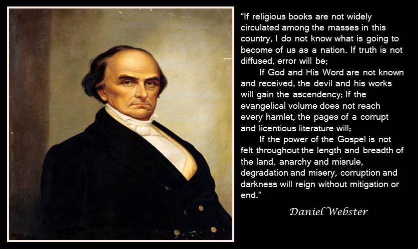Daniel webster facts are stubborn things for Farcical webster