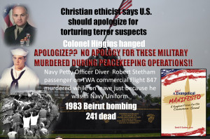 Gamaliel Foundation Marxist trained evangelicals are saying WE should apologize to terrorists