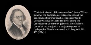 James Wilson Christianty