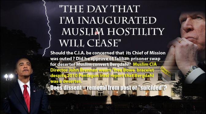 Muslim Caliphate Underway? Obama and Muslim Convert CIA Director John Brennan funding and releasing America's enemies