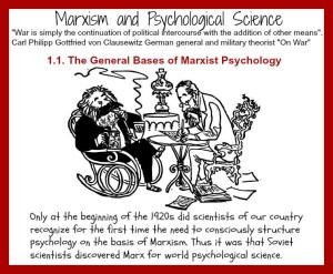 Karl Marx Englels Psychology