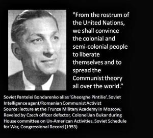 Pantalei Bondarenko alias Gheorghe Pintilie Double Soviet Spy