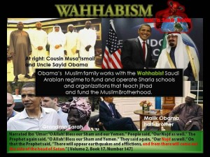 Obama Family Charities Supporting Wahhabi Movement.