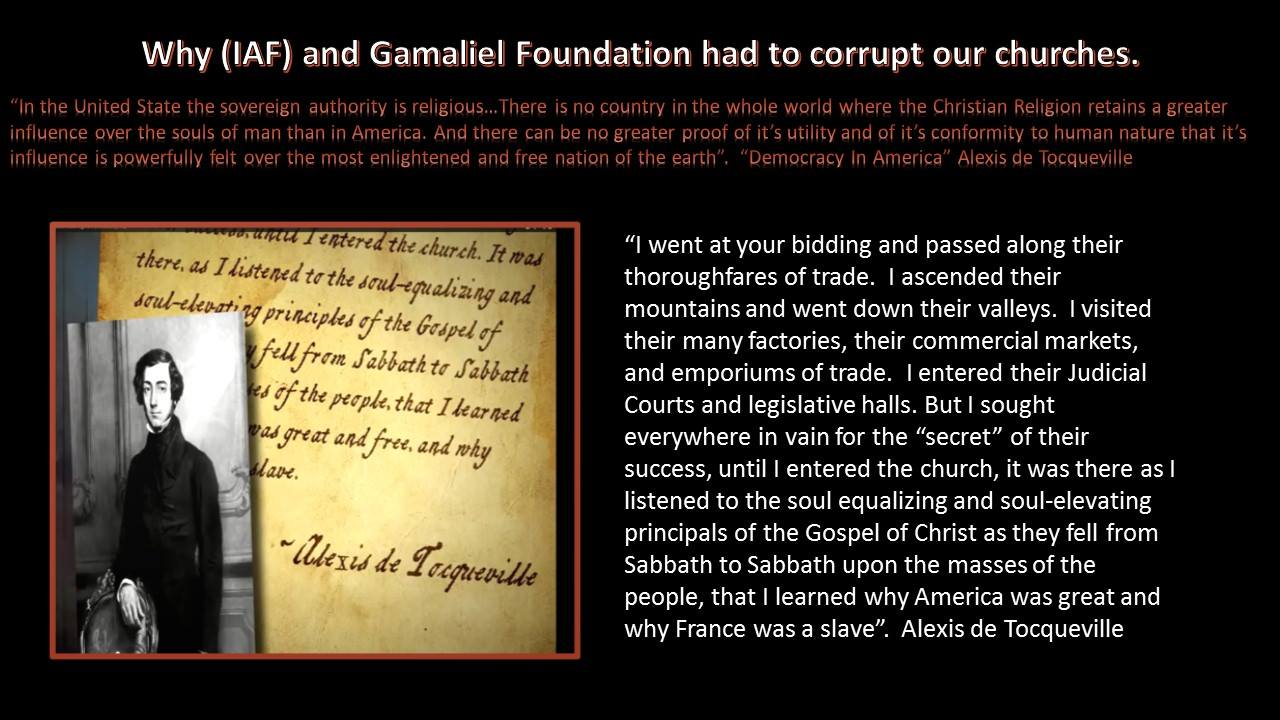 """Alex de Toqueville wrote """"Democracy In America""""  on his tour and observation of America"""