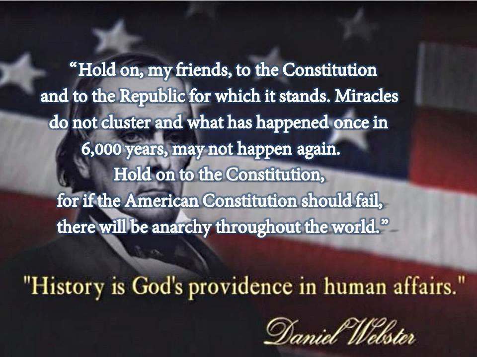 Daniel Webster Constitution Anarchy