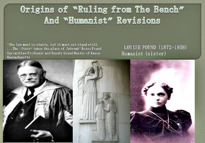 Roscoe Pound Supreme Court Judge and 33rd Degree Mason.  Laura Roscoe's sister Laura scholar of Humanist and athlete.
