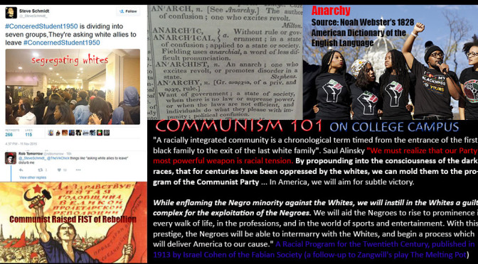 Communism 101 on College Campus: Organized Anarchy Across the Nation